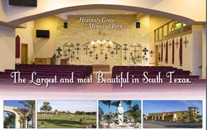 Heavenly Grace Memorial Park in La Feria