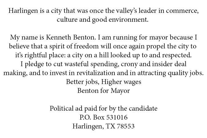 Kenneth Benton For Mayor